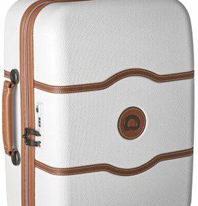 malete carry on lujo blanca