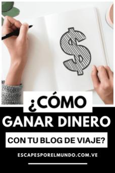 Como ganar dinero con tu blog de viajes