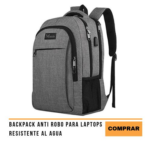 Backpack anti robo para laptops accesorios para equipaje de mano