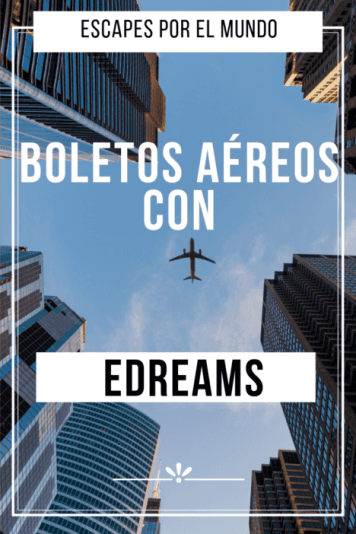 Boletos aéreos baratos con eDreams