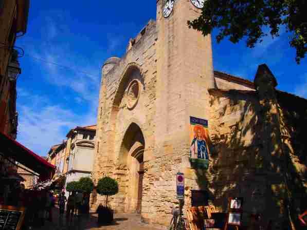 Rutas por carretera Europa 2019 Iglesia Notre Dame de Sablons Aigues de Mortes Occitania Francia