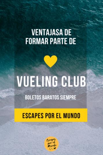 Ventajas de formar parte de Vueling Club volar barato siempre(1) playa