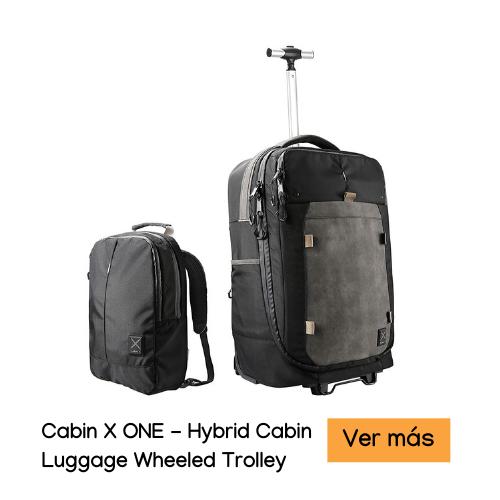 Cabin X ONE - Hybrid Cabin Luggage Wheeled Trolley accesorios de viaje para mujeres