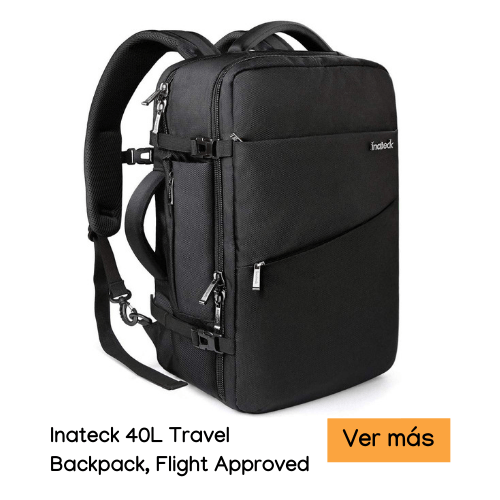 Inateck 40L Travel Backpack, Flight Approved