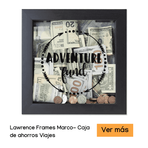 Lawrence Frames 8x8 Adventure Fund Black Shadow Box Frame