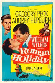 pelicua que inspira a viajar Roman Holiday