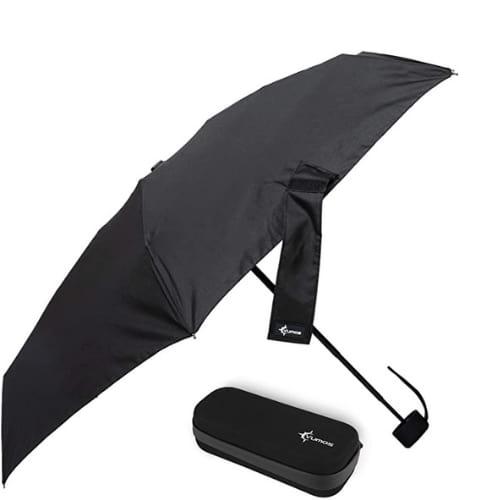 Articulo para viajero - Vumos Paraguas pequeño y compacto de viaje