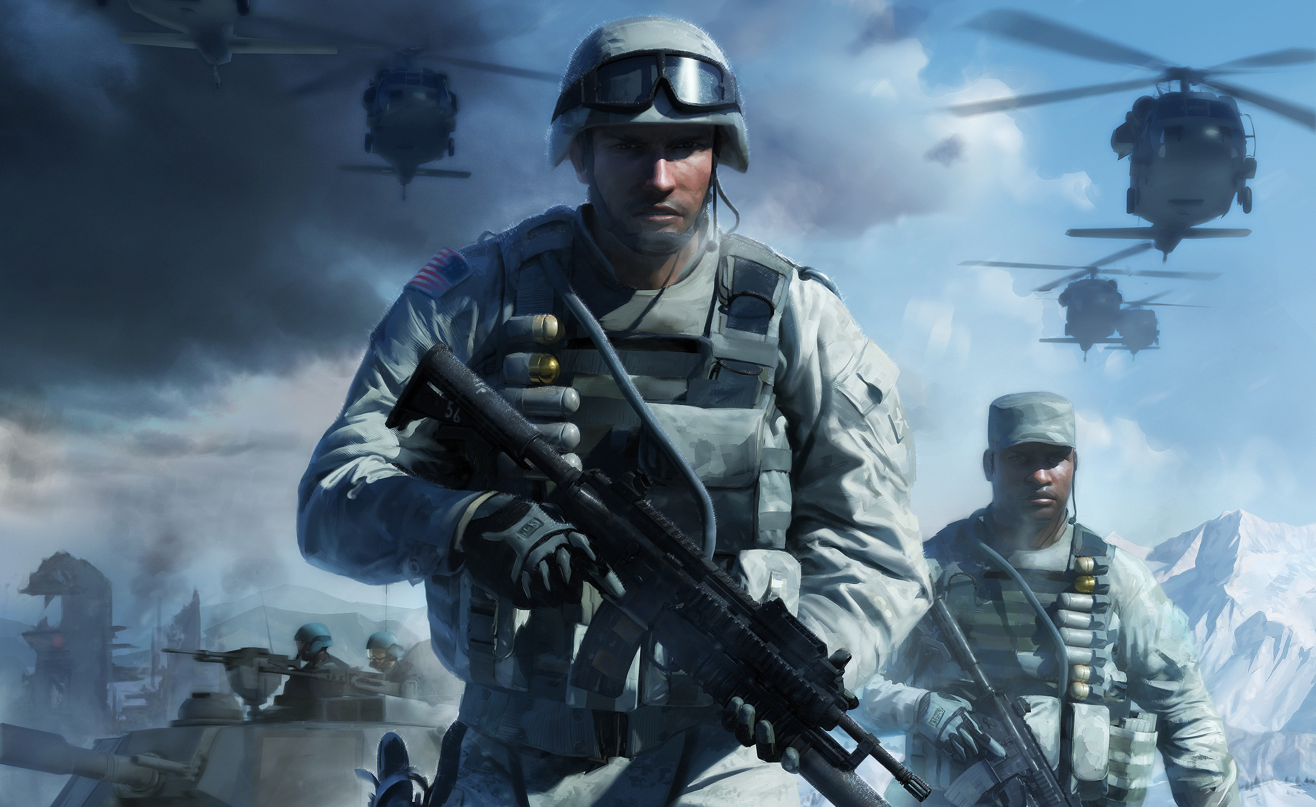 Concept Bad the of battlefield bad company 1 2 34 escape the level