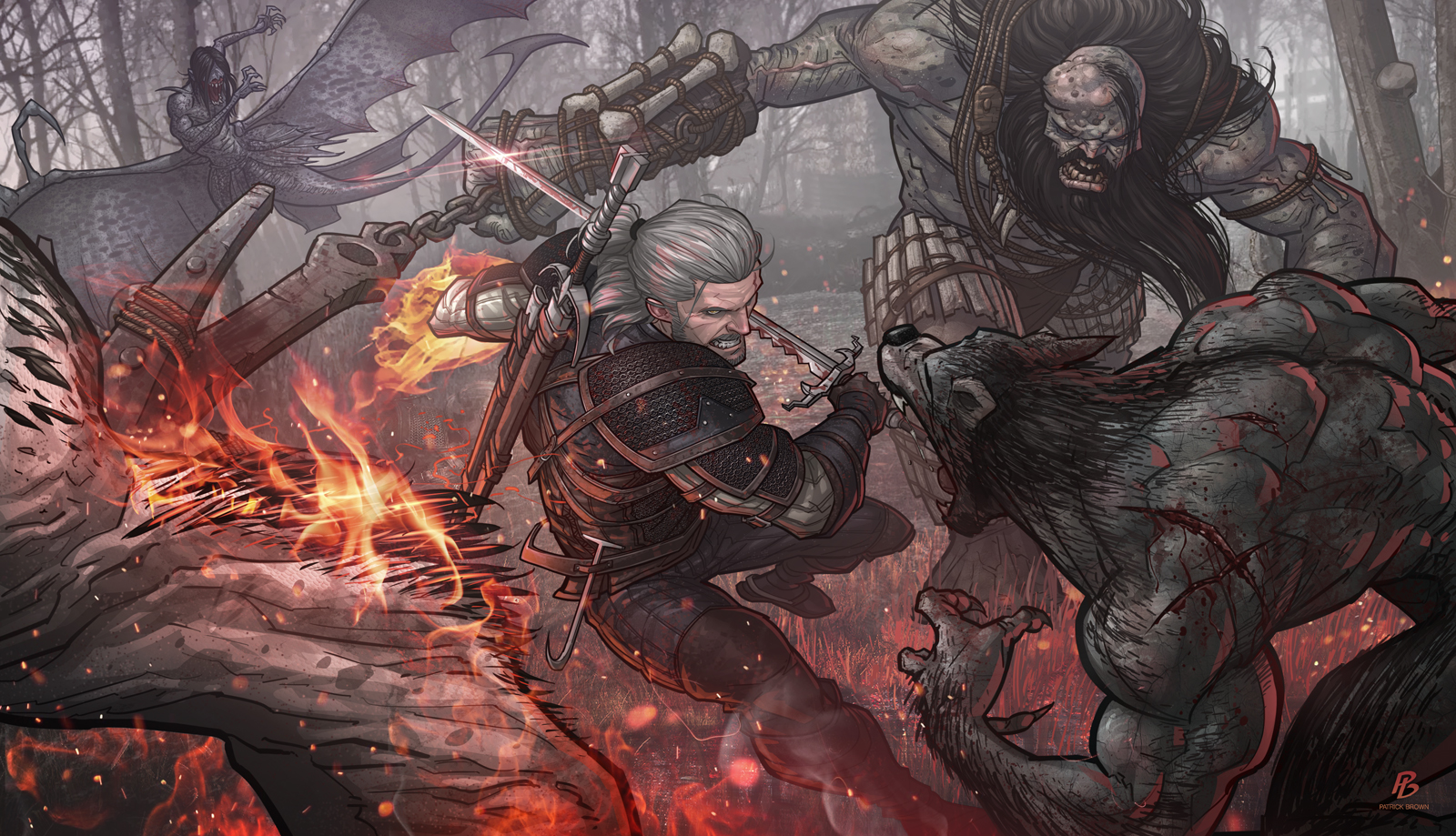 Witcher 3 Fan Art