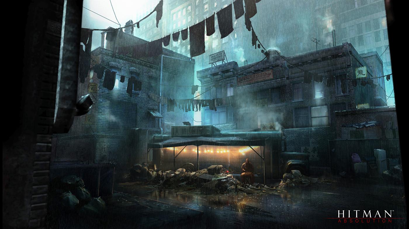 Hitman Absolution Concept Art 51 Escape The Level