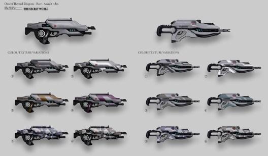 hongqi-zhang-120117-hongqizh-orochi-themed-weapons-rare-assault-rifles