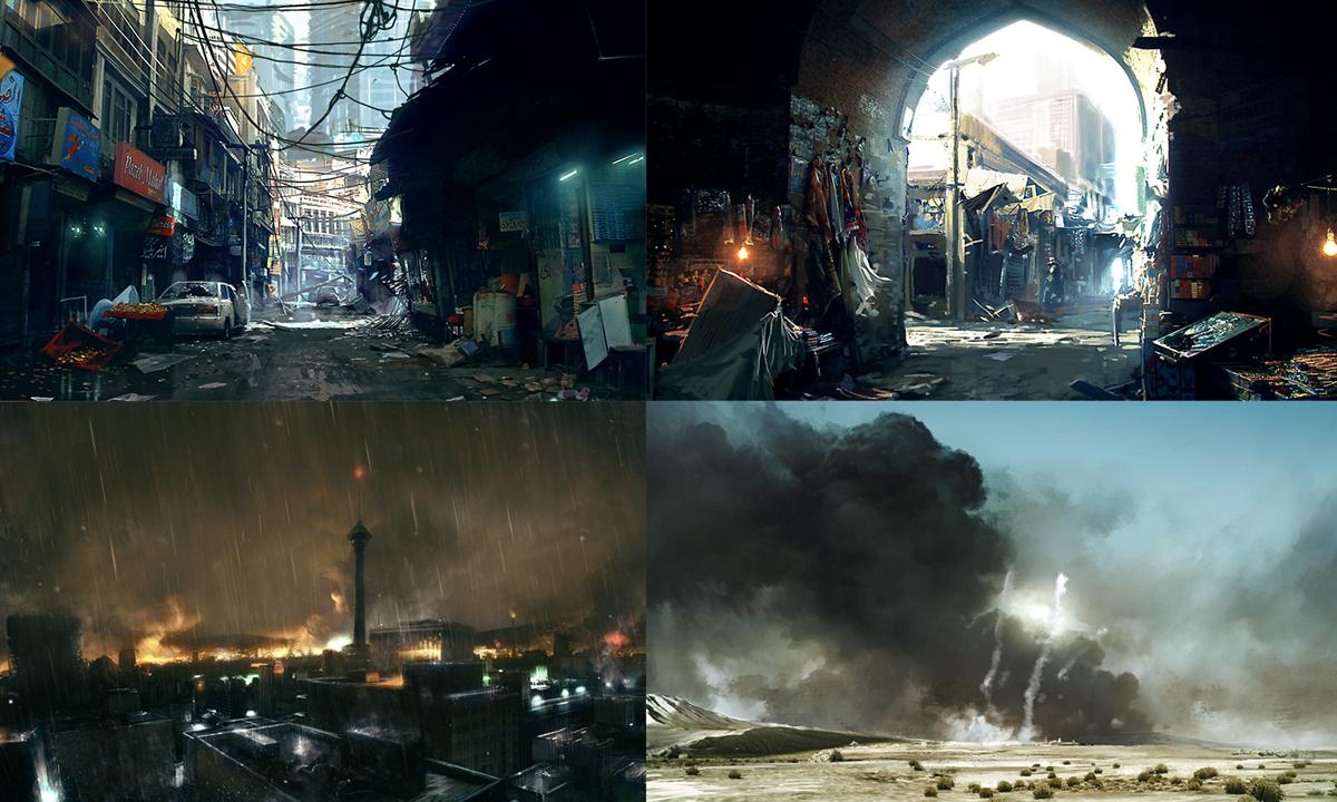Art of Battlefield 3 - Robert Sammelin