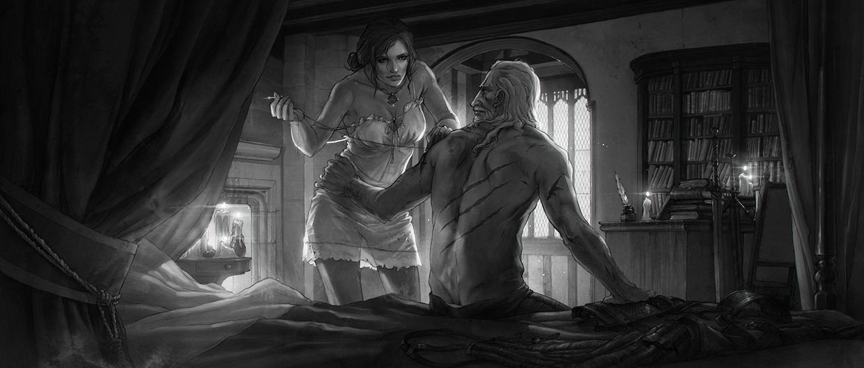 Witcher 3 Concept Art