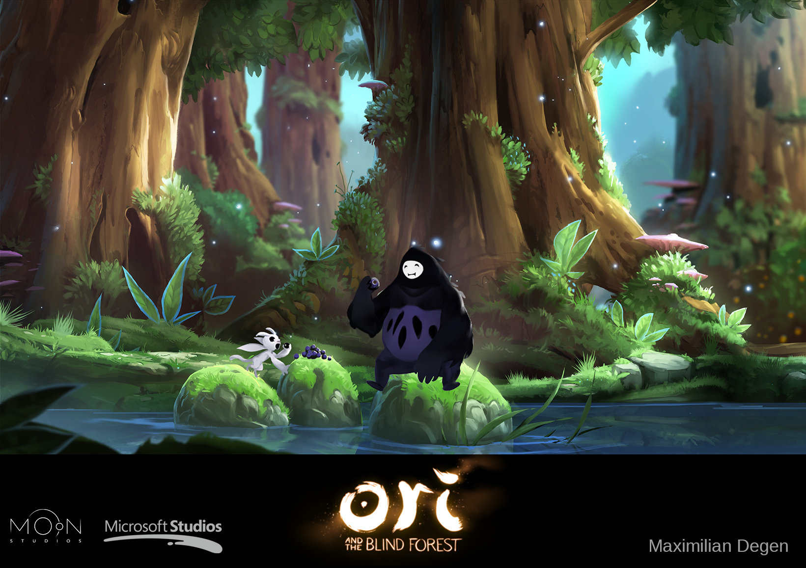 Ori And The Blind Forest Concept Art 72 Escape The Level