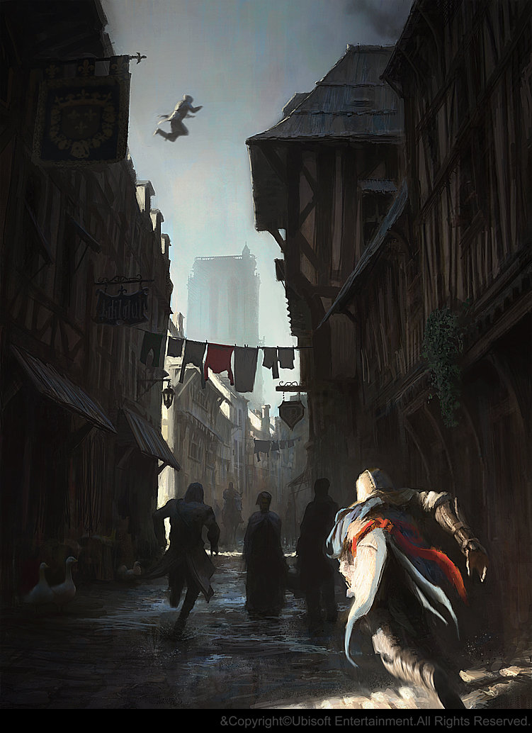 Gilles Beloeil - Assassin's Creed Unity