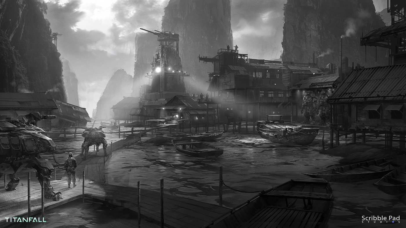 James Paick - Concept Art