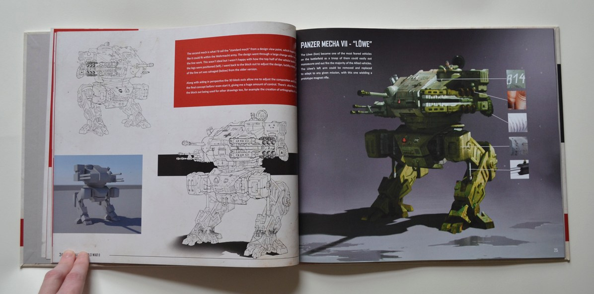 Alternate World War 2 Artbook