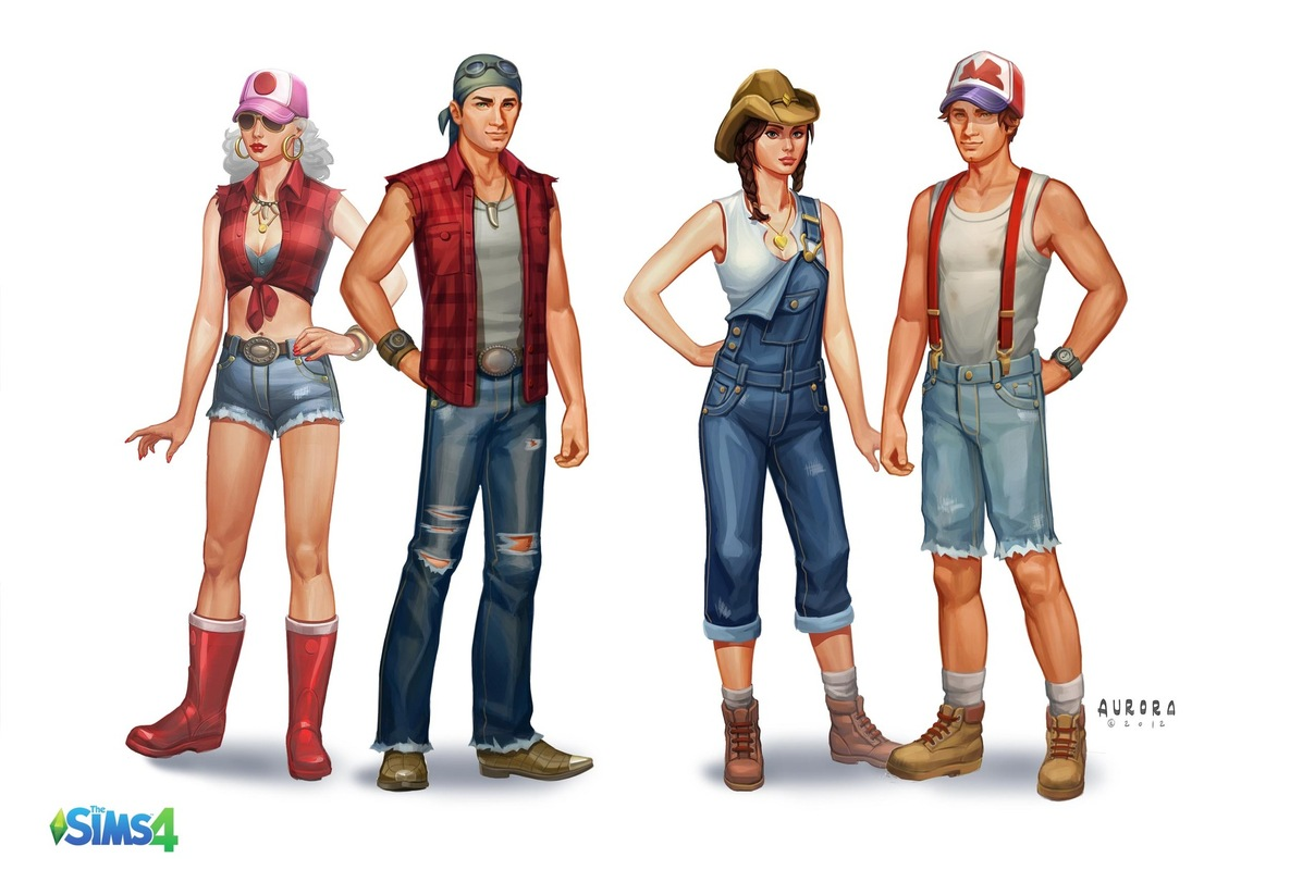 Z Dress Young Fashion Sims