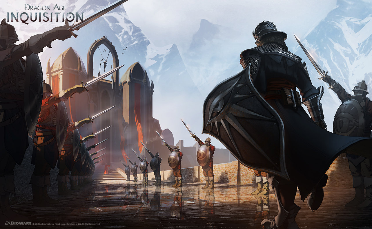 Dragon Age Inquisition Artwork