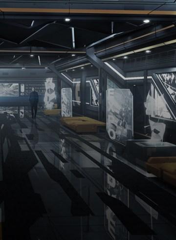 Deus Ex Mankind Divided Concept Art