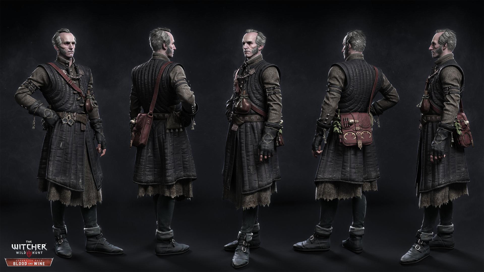 Witcher 3 Großmeister Rüstungen