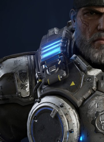Gears of War 4 Character Art