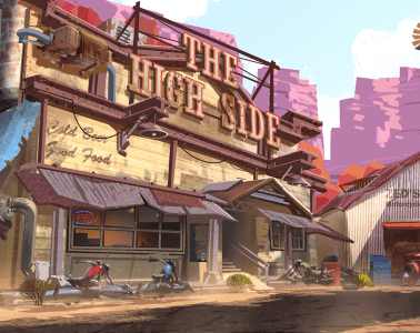 Overwatch Concept Art by Nick Carver