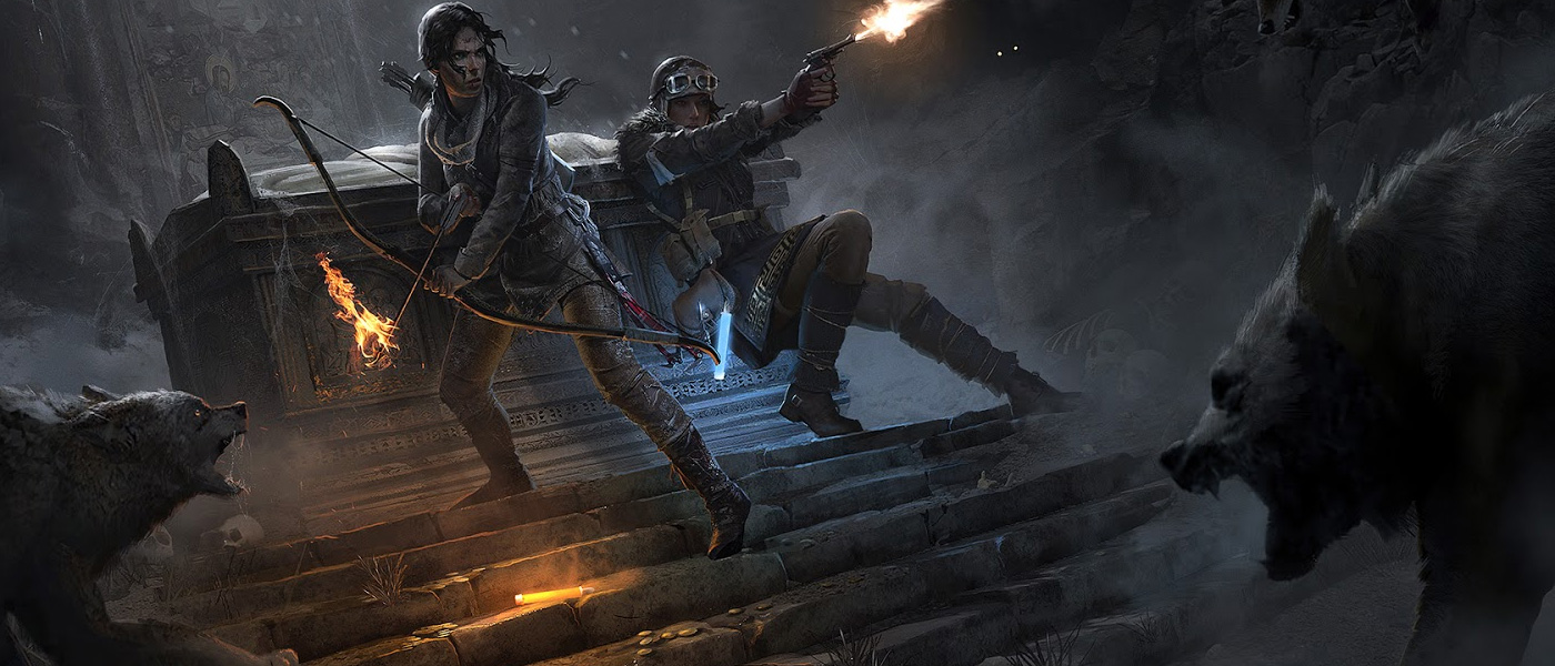 Tomb Raider Concept Art by Brandon Russell