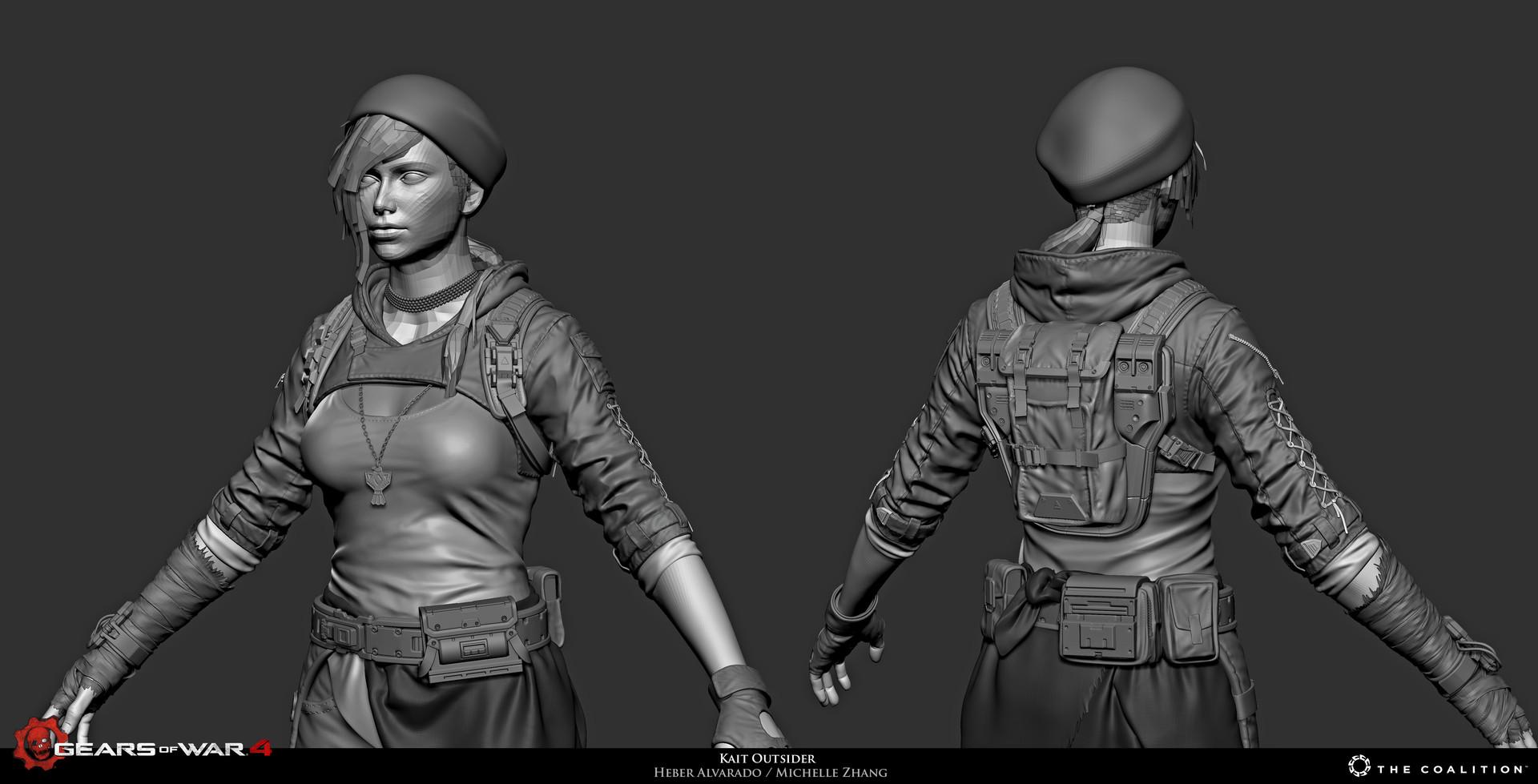 Gears of War 4 Art by Heber Alvarado
