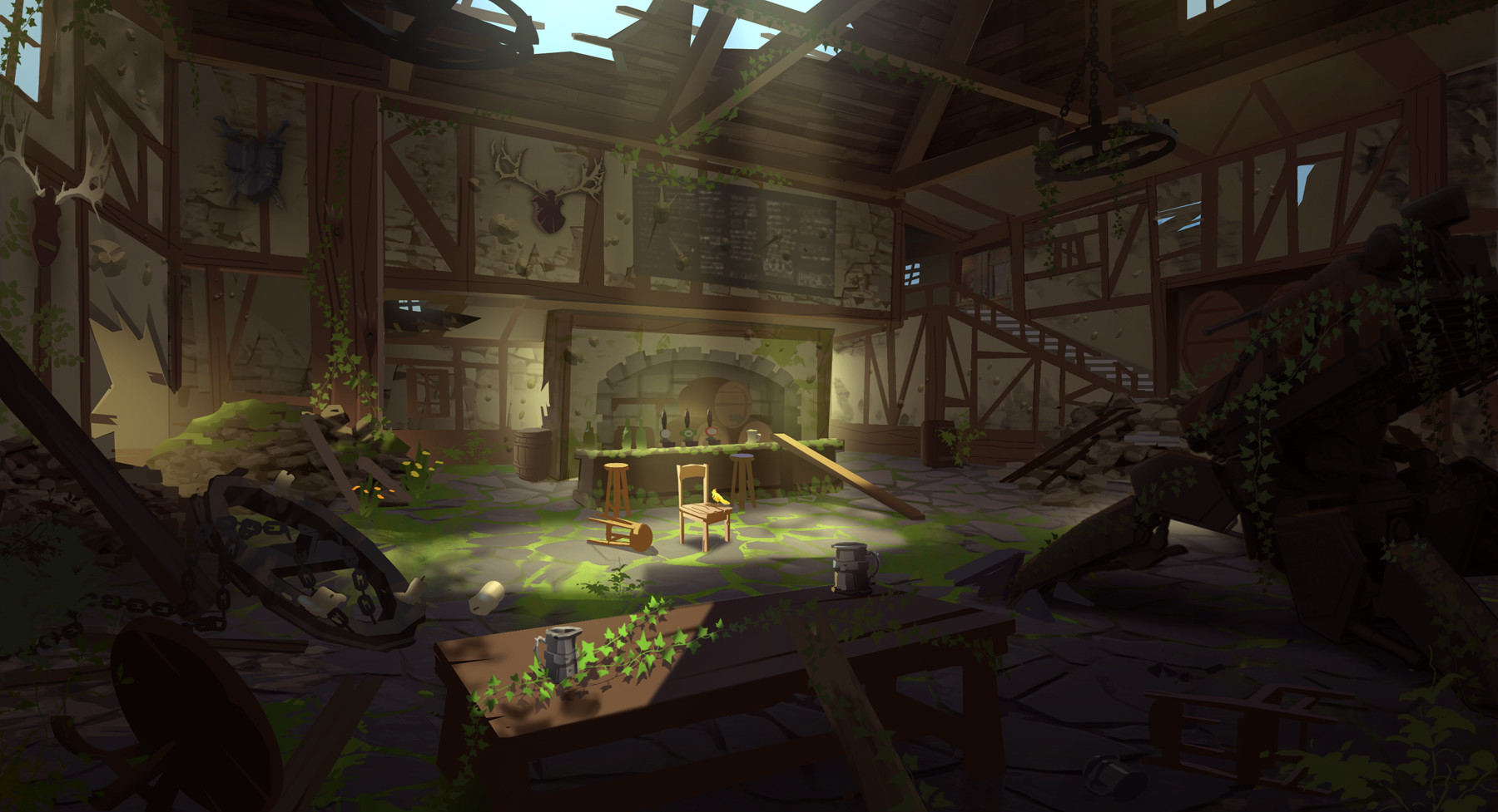 Overwatch Concept Art By Nick Carver 143 Escape The Level