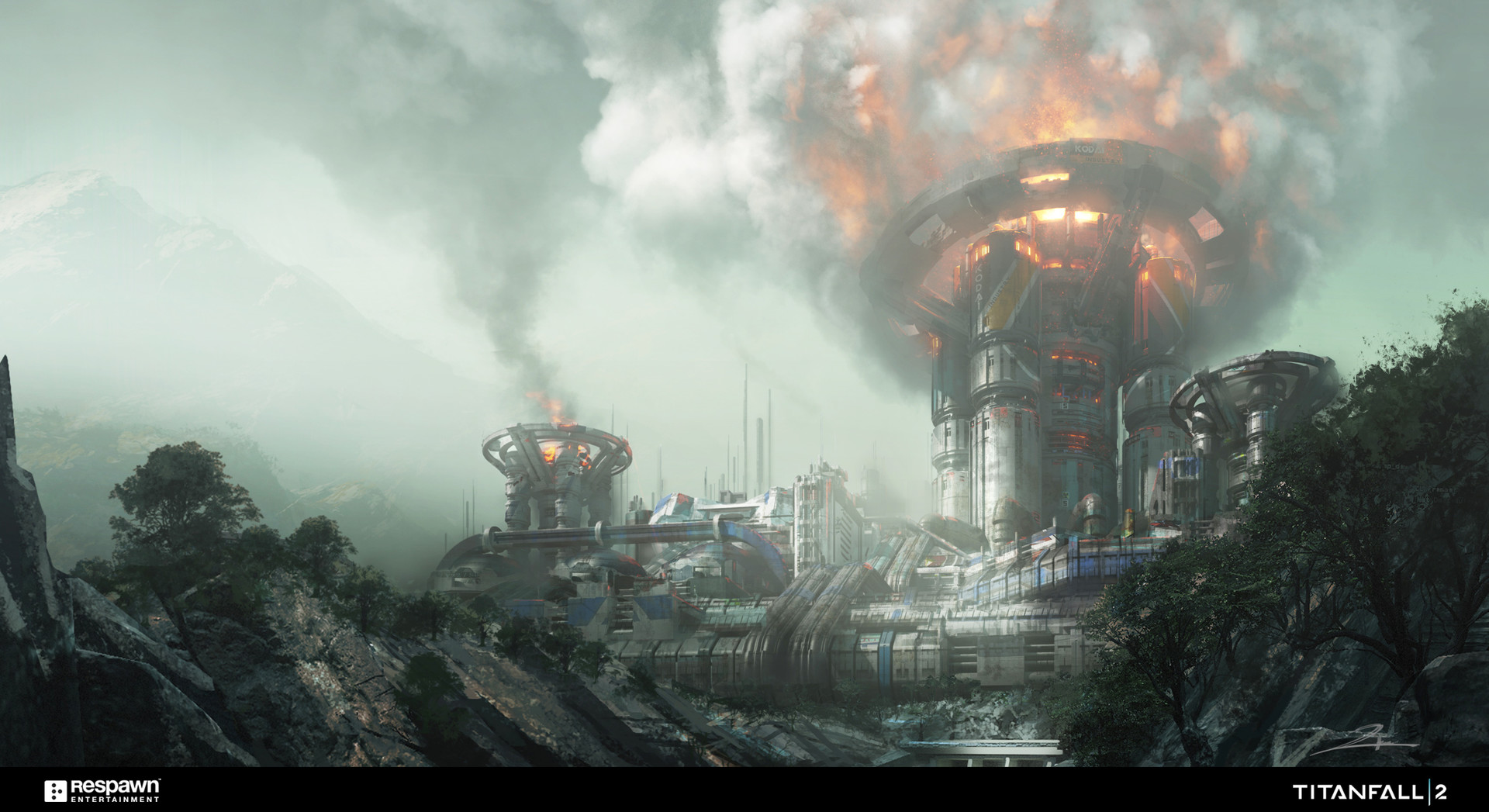 Titanfall 2 Concept Art By Tu Bui 148 Escape The Level