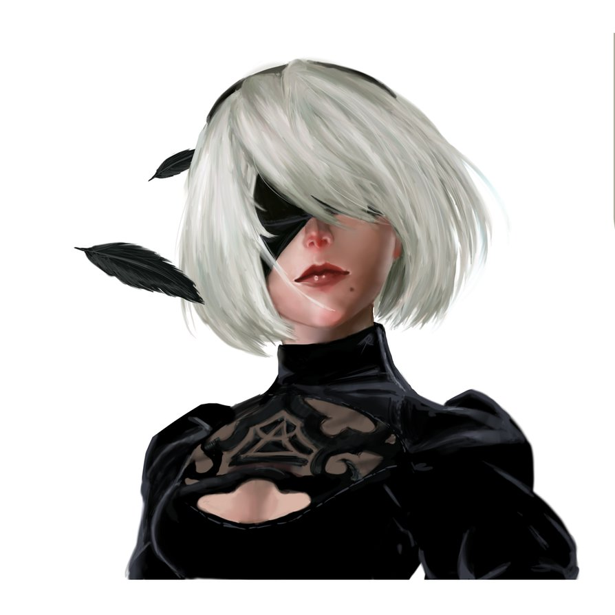 2b Nier Automata fan art