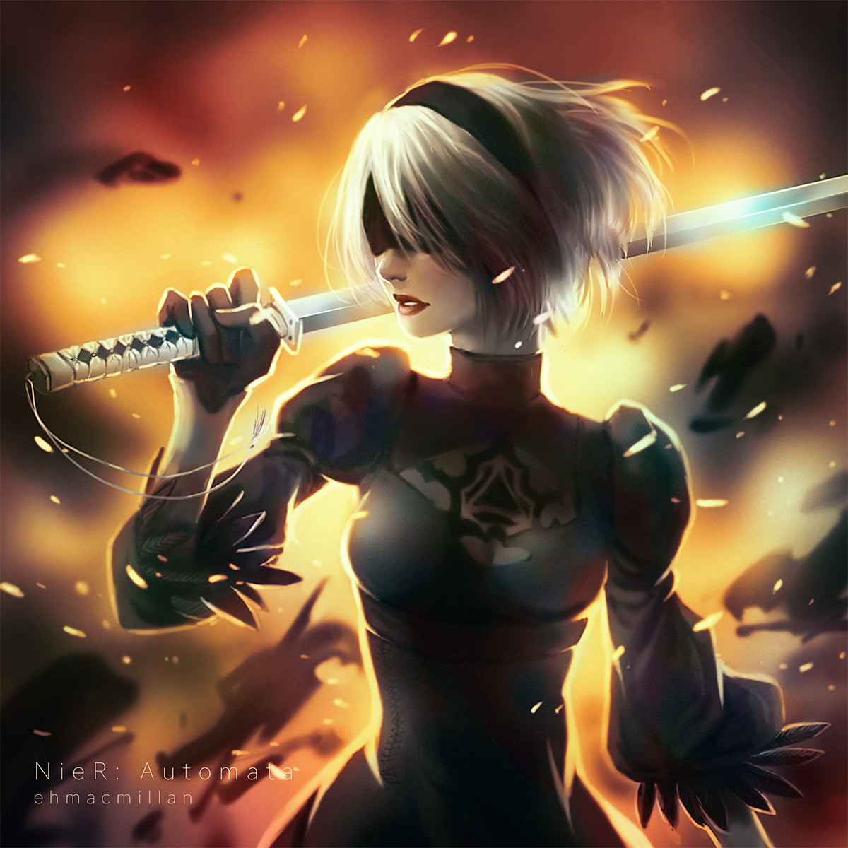 Premise Indicator Words: Some Of The Best Nier Automata Fan Art