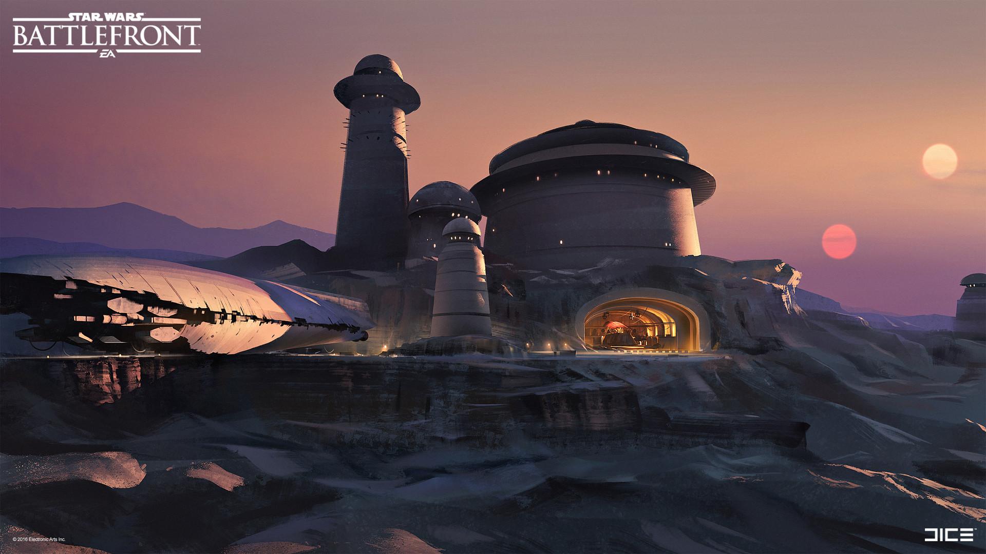 Star Wars Battlefront Concept Art