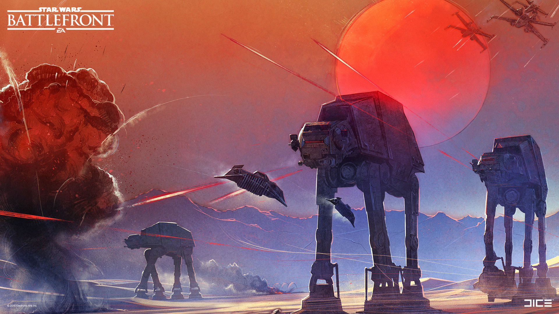 The Art of Star Wars Battlefront by Anton Grandert