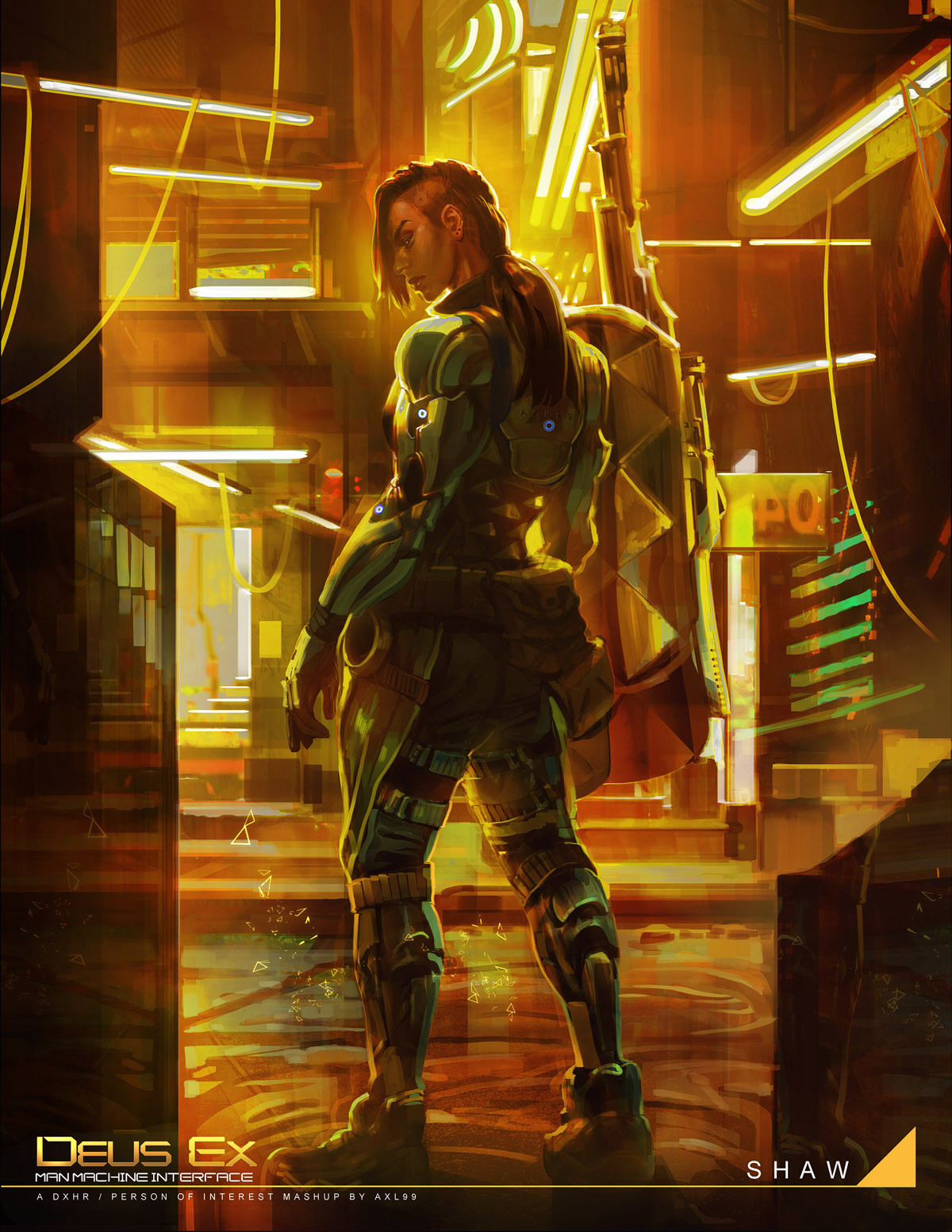 Jessie Lam Deus Ex Fan Art