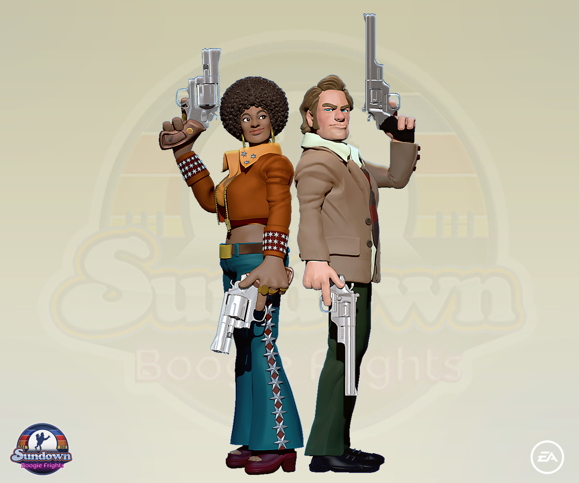 Sundown Boogie Concept Art