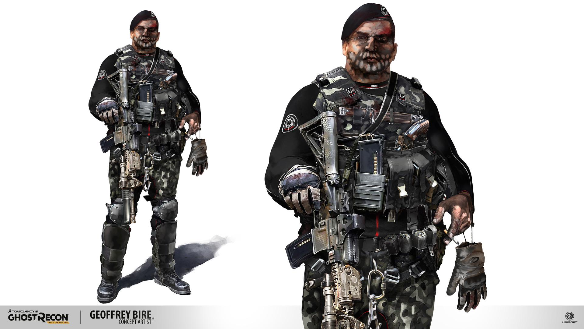 Ghost Recon Wildlands Unidad Faction