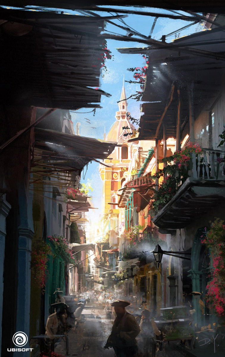 Concept Art of Donglu Yu