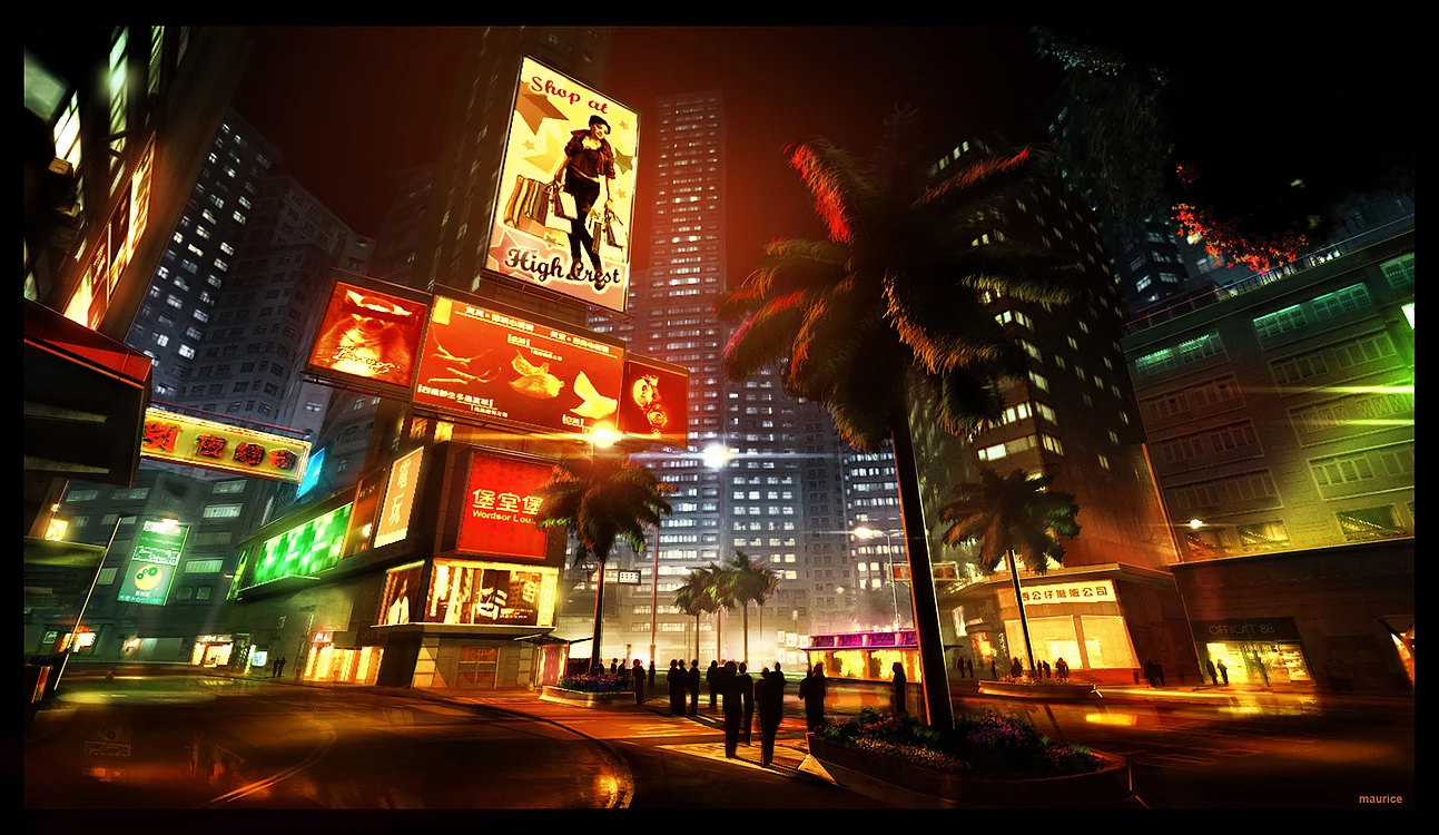 Sleeping Dogs Art