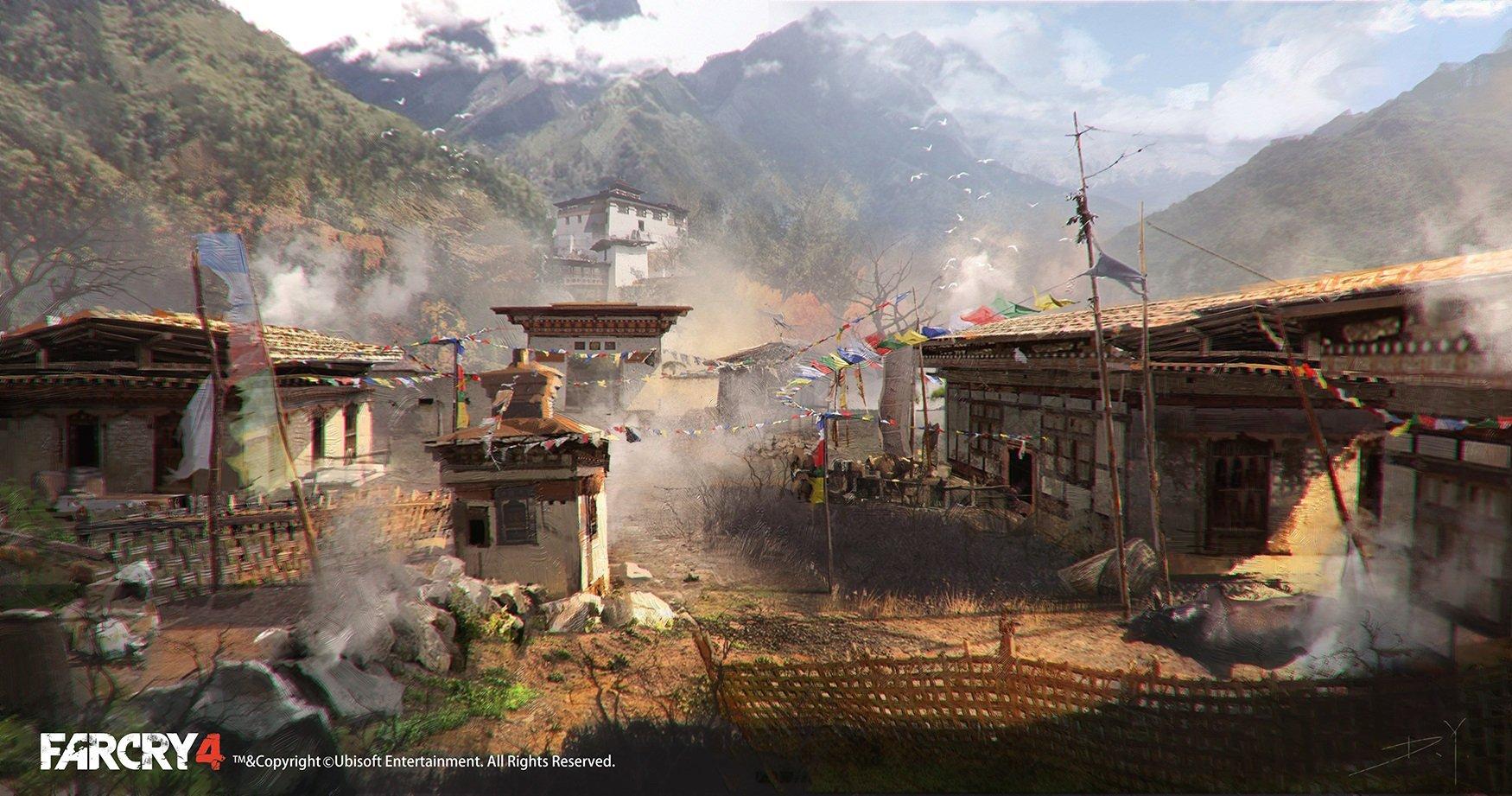 Far Cry 4 Concept Art