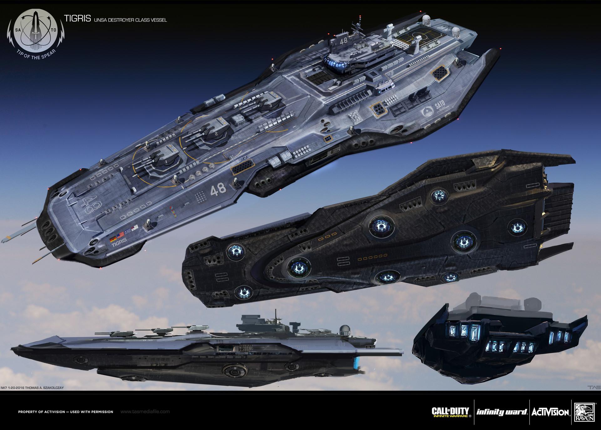 COD Infinite Warfare Concept Art