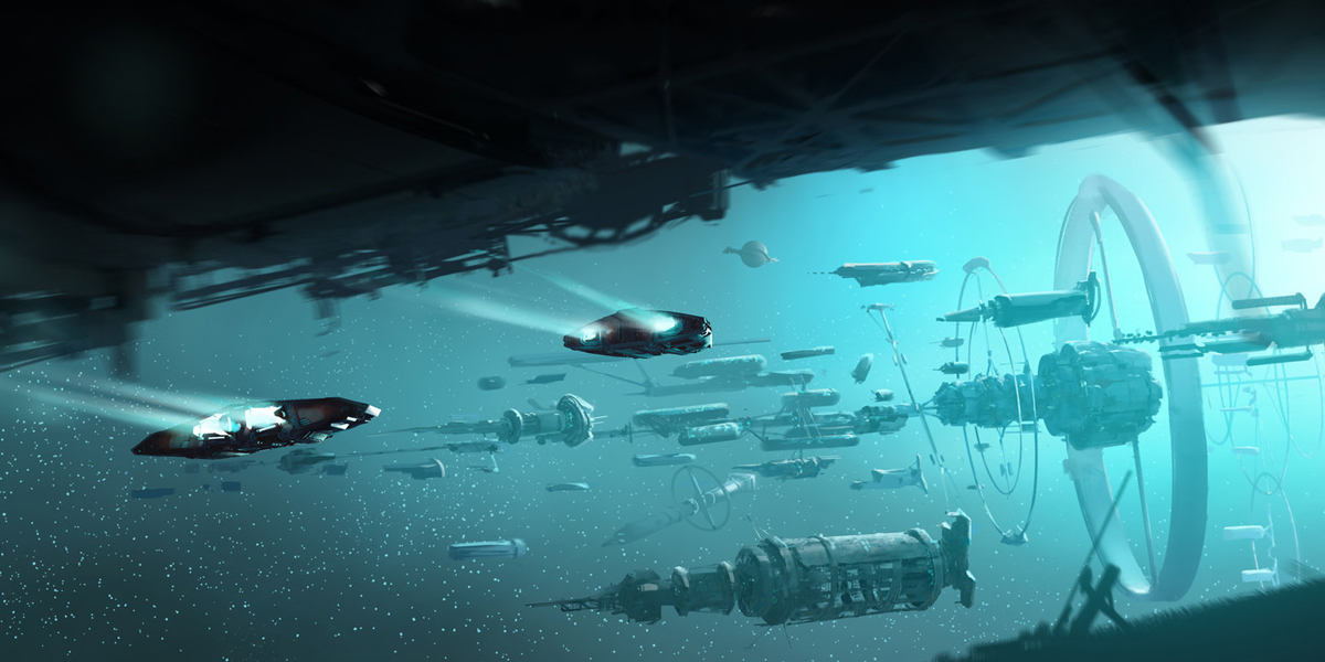 Elite Dangerous Concept Art by Josh Atack | #182