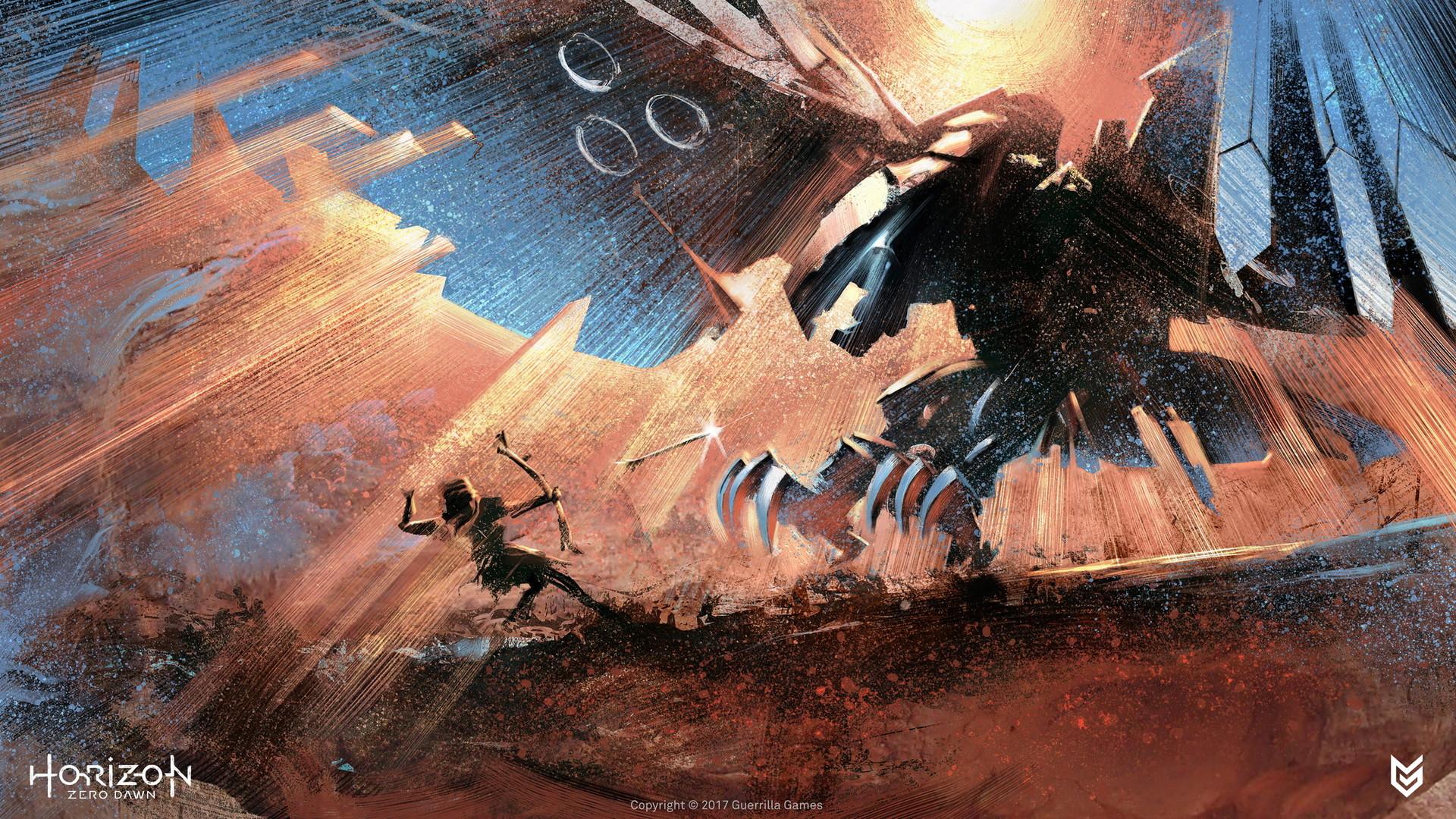 Ilya Golitsyn - Horizon Zero Dawn Artwork