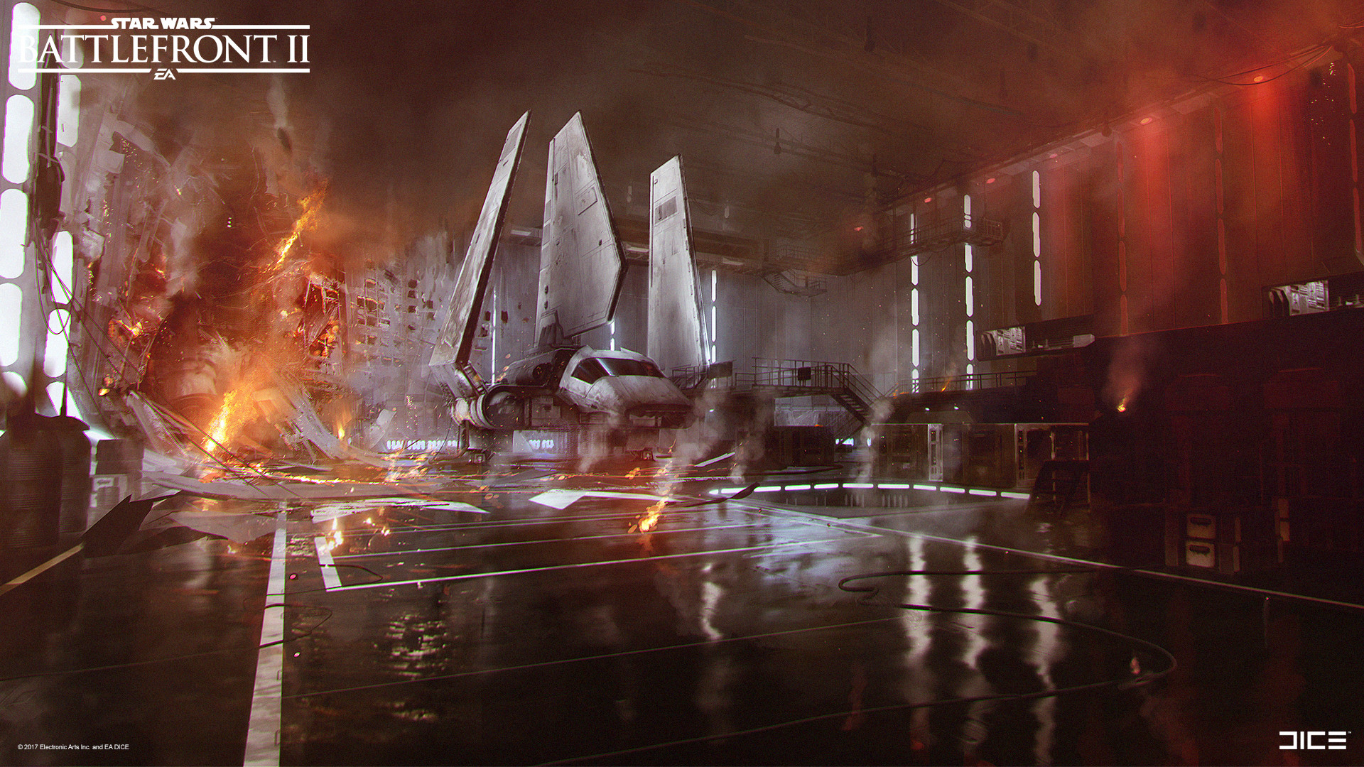 Star Wars Battlefront 2 Concept art - Death Star II