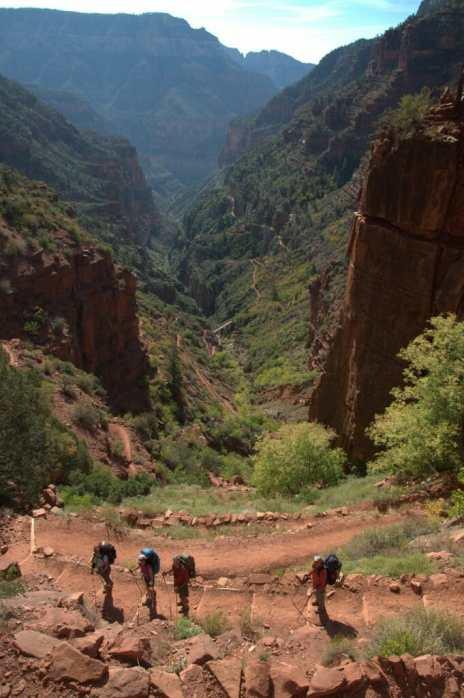 Sup Tunnel  grand canyon