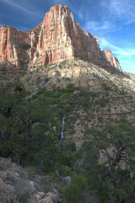 grand canyon Cottonwood Campground