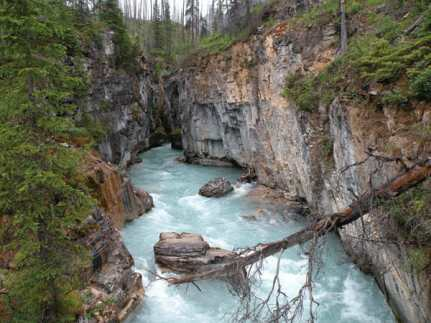 Marble-Canyon Canadian Rockies