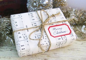 reusable and recyclable gift wrap