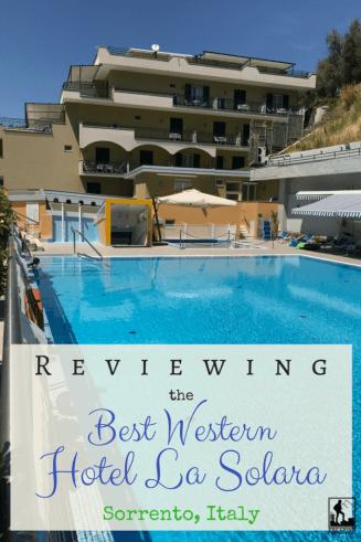 Best Western Hotel La Solara Sorrento Italy